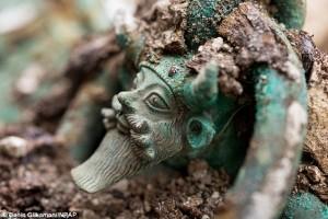 Túmulo celta na França 01