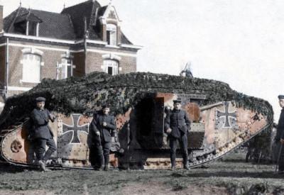 Primeira Guerra colorizada 60