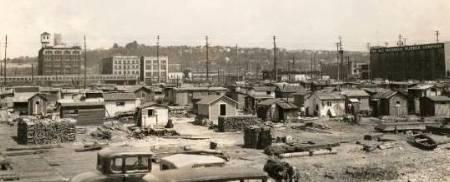 Hoovervile em Seattle - 1933