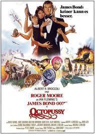 Poster de 007 contra Octopussy (Octopussy) de 1983.